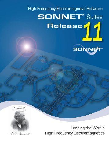 V11 Brochure-23 Font Embed.indd - Sonnet Software