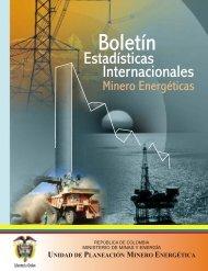 Boletín Estadisticas Internacionales 1998-2003 - Unidad de ...