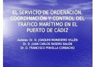 El servicio de ordenación, coordinación y control ... - Pladesemapesga