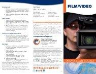 FILM/VIDEO - Orange Coast College