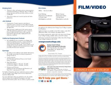 FILM/VIDEO - Orange Coast College