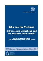 Who are the victims? - CAIN - University of Ulster