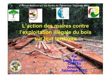 Présentation DT FNF doc final - Centre Technique de la Forêt ...