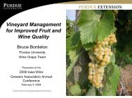 Vineyard Management for Improved Fruit and Wine Quality