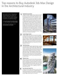 Top reasons to Buy Autodesk 3ds Max Design in the Architectural ...