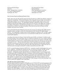ABAC FY2013 Appropriations Letter - nastad