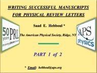 Dr. Hebboul's PRL Workshop Part 1 slides