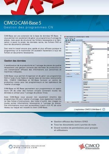 CIMCO CAM-Base 5