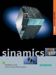 SINAMICS S120 Servo Control Drive System