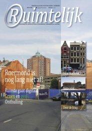 Ruimtelijk maart 2009 - Stichting Ruimte Roermond