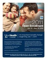 2011 Employee Benefits Open Enrollment