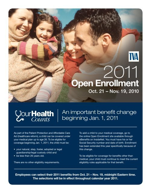 2011 Employee Benefits Open Enrollment