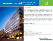 THE LION BUILDING - Transwestern