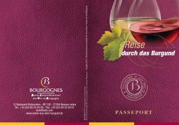 herunterladen die passeport - Wein Burgund