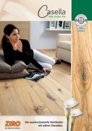 Der ausdrucksstarke Holzboden mit edlem Charakter. - Maison Nature