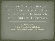 Heavy Metal Concentrations in the rhizomes of Typha latifolia in ...