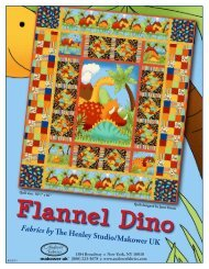 Flannel Dino Cover - Ladyfingers Sewing Studio