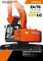 Brochure ZX225USR-3 - Hitachi Construction Machinery