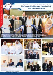 The Premier Dental Gathering in the Middle East and North Africa