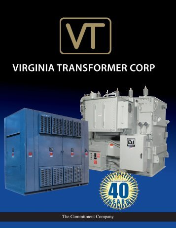Full corporate Brochure - Virginia Transformer Corp