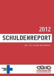 Schuldenreport 2012 - Erlassjahr.de