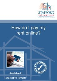 How Do I Pay My Rent Online (1.6mb) - Stafford and Rural Homes