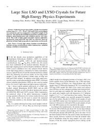 Paper on Large Size LSO and LYSO Crystals for Future ... - Caltech