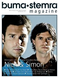 01 BS 1-2011 Cover.indd - Buma/Stemra