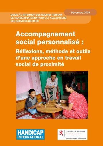 Accompagnement social personnalisé : - Handicap International