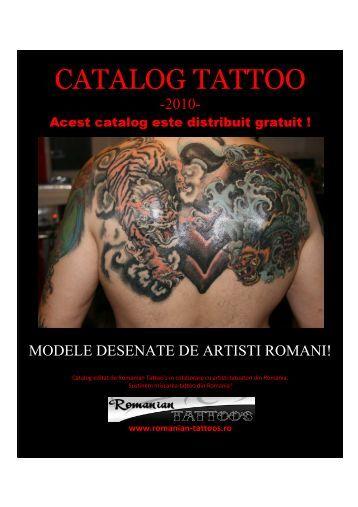 catalog tattoo de artisti romani