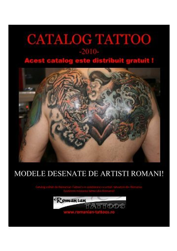 catalog tattoo de artisti romani