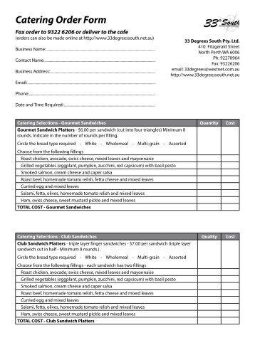 Subway Order Form Seatle Davidjoel Co