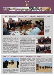 Boletin PECH - Octubre 2012 (hojas) - Chavimochic