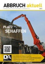 Abbruch aktuell, Ausgabe 1-2013 - Deutscher Abbruchverband
