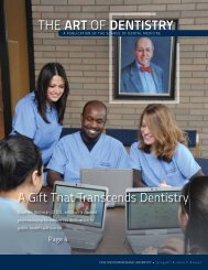 the Art of Dentistry - School of Dental Medicine - Case Western ...