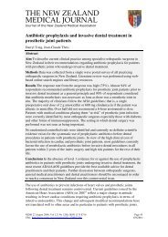 Antibiotic prophylaxis and invasive dental treatment in prosthetic ...