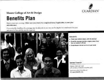 Benefits la - Moore College of Art & Design