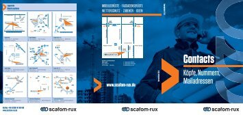 Hotline +49 (0) - Rux GmbH
