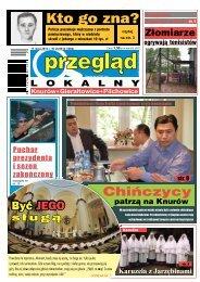 Przegląd Lokalny Nr 20 (1002) 17 maja 2012 roku