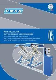 ponti sollevatori elettroidraulici a doppia forbice