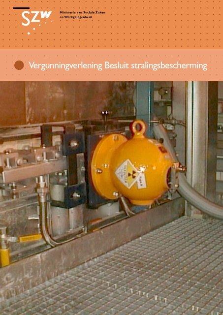 Vergunningverlening Besluit stralingsbescherming - Pagina niet ...