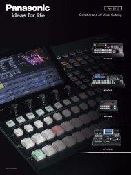 Switcher and AV Mixer Catalog - Apr.2012 - Crambo
