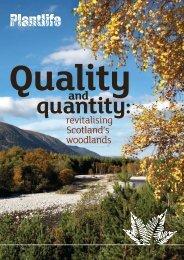 revitalising Scotland's woodlands - Plantlife
