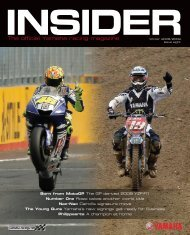 The official Yamaha racing magazine - Yamaha-Racingparts