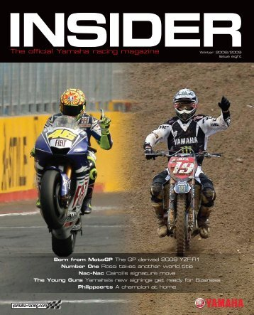 The official Yamaha racing magazine - Yamaha-Racingparts