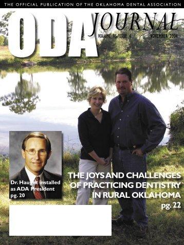 November 2004 Journal - Website