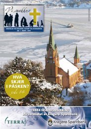 2010-1 - kirkene i Kragerø