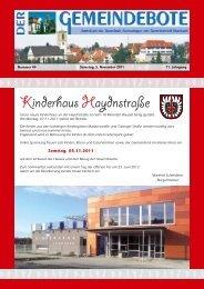 Ausgabe :Gomaringen 05.11.11.pdf - Gomaringer Verlag
