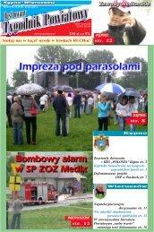 str. 12 str. 22 str. 8 str. 8 - Tygodnik powiatowy