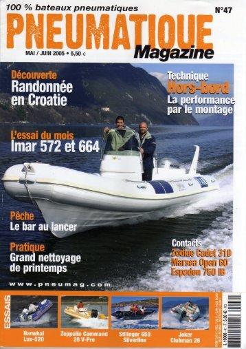 Pneumatique Magazine no.47, mai/juin 2005 - NautiPneu